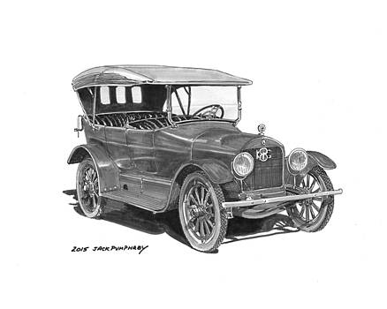Jack Pumphrey - 1917 King Motorcar model E E