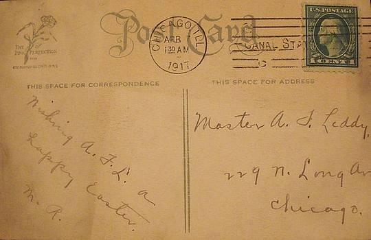 1917 Postcard by Anna Villarreal Garbis