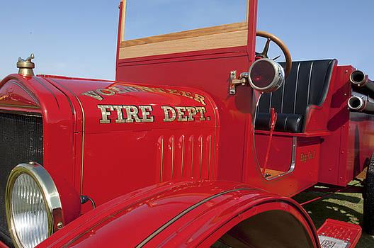 Jill Reger - 1919 Volunteer Fire Truck