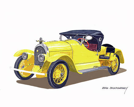 Jack Pumphrey - 1920 Kissel Gold Bug Speedster