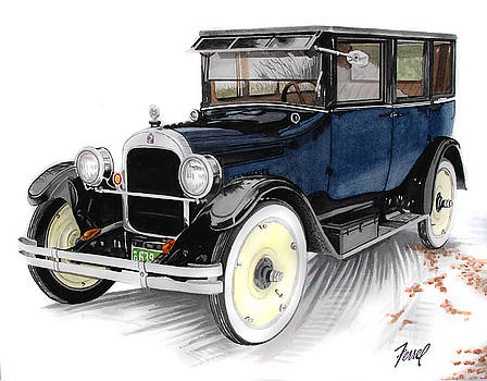 1923 Durant A-22 Sedan by Ferrel Cordle