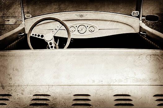 1929 Ford Model A Roadster -0040s by Jill Reger