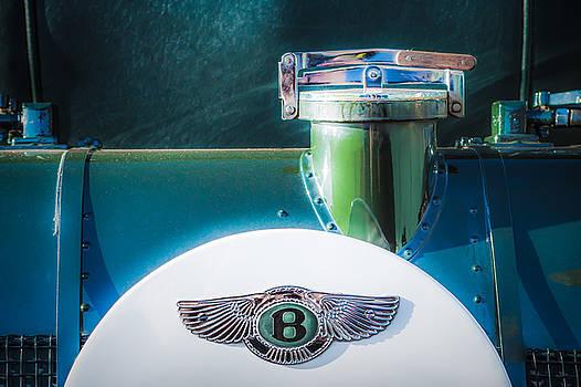 Jill Reger - 1930 Bentley Speed Six Emblem -0275c