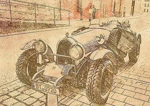 1932 Bugatti type 35 by Michael Smith