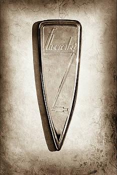 1933 Chevrolet Emblem -0509s by Jill Reger