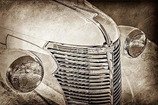 1933 Chevrolet Grille -0353s by Jill Reger