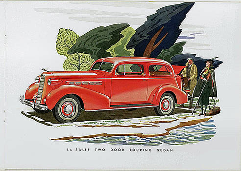 1936 La Salle two door touring Sedan by Allen Beilschmidt