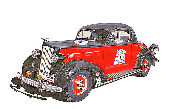Jack Pumphrey - 1936 Packard 120 B Coupe