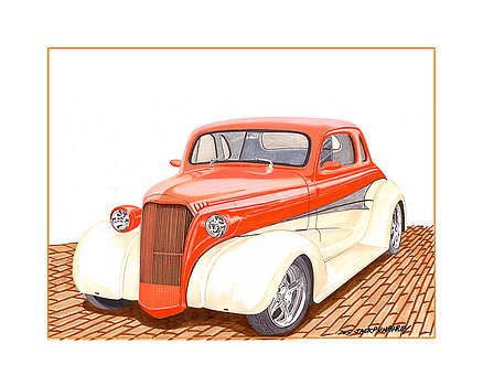 Jack Pumphrey - 1937 Chevrolet street rod