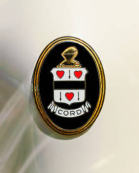 Jill Reger - 1937 Cord 812 Sc Phaeton Emblem -1203c3