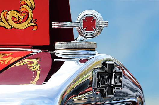 Jill Reger - 1938 American LaFrance Fire Truck Hood Ornament
