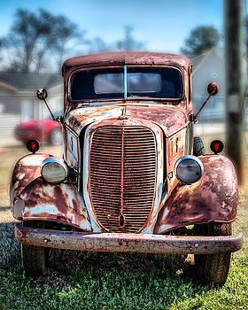 1939 Ford V85 Wrecker by Lynne Jenkins