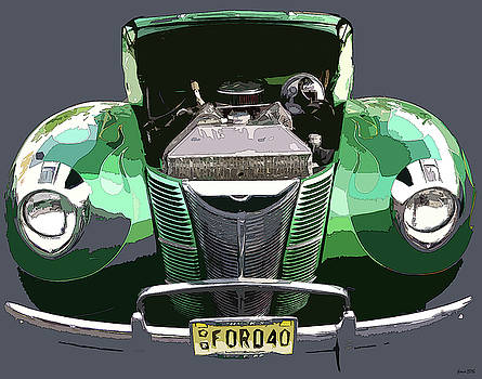 1940 Ford by JoAnn Lense