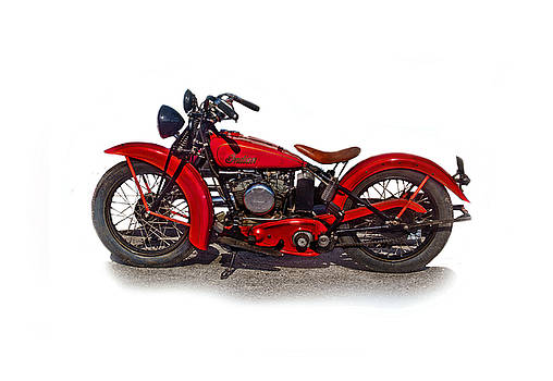 1940's Indian Motorcycle by Mamie Thornbrue