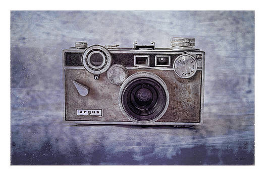 1940's Vintage Argus Camera with Border by Tony Grider