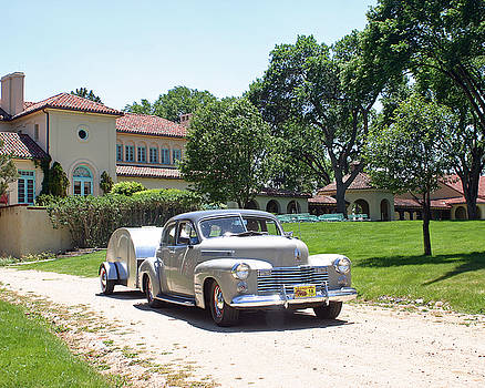 Jack Pumphrey - 1941 Cadillac with Tear Drop