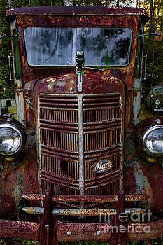 1941 Mack Milk Truck by Doug Sturgess