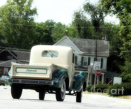 1941 Plymouth  by Steven Digman