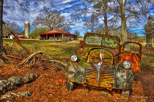 1947 Dodge Truck Country Scene Art by Reid Callaway