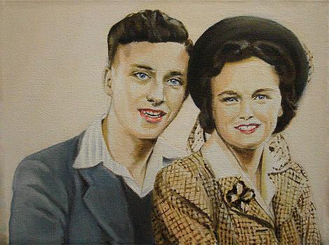 1947 Honeymooners by Davinia Hart