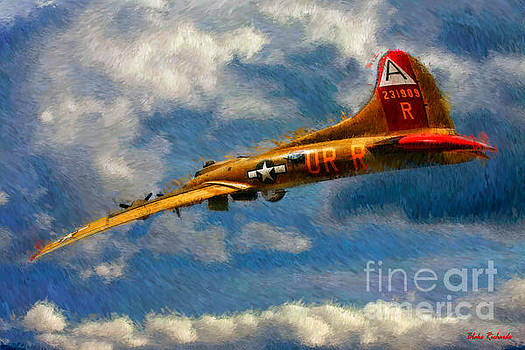 Blake Richards - 1949 Boeing B-17B Flying Fortress
