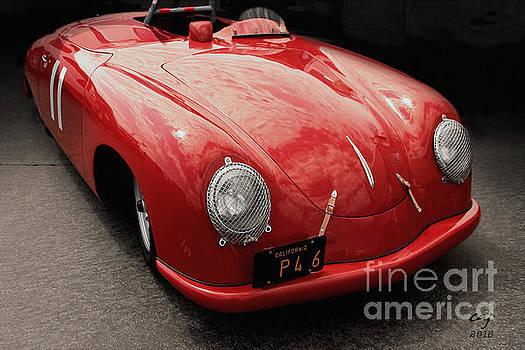 1949 Porsche 356sl  by Curt Johnson