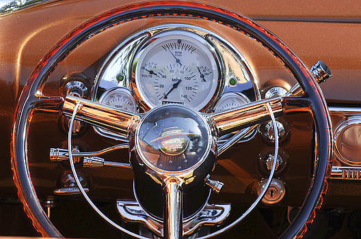 Jill Reger - 1950 Oldsmobile Rocket 88 Steering Wheel 2