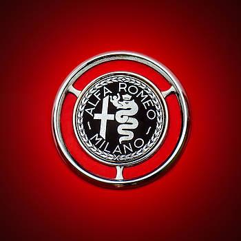 Jill Reger - 1959 Alfa Romeo Giulietta Sprint Emblem -0128c1