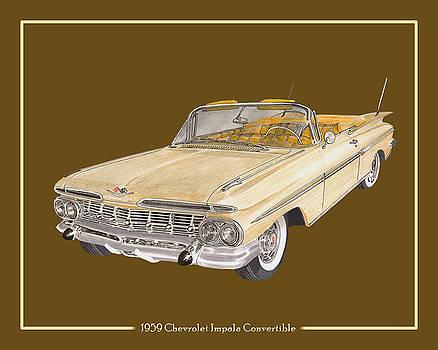 Jack Pumphrey - 1959 Chevrolet Impala Convertible