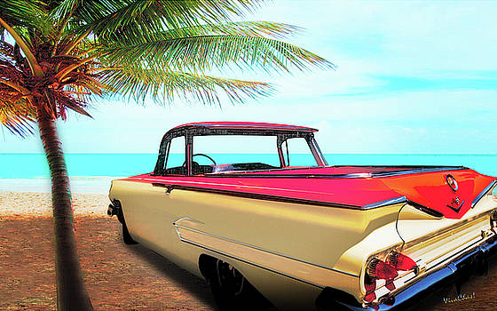 1960 El Camino 1st Generation by Chas Sinklier