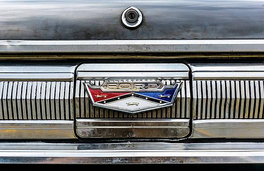 1960 Ford Falcon trunk lid emblem by Jim Hughes