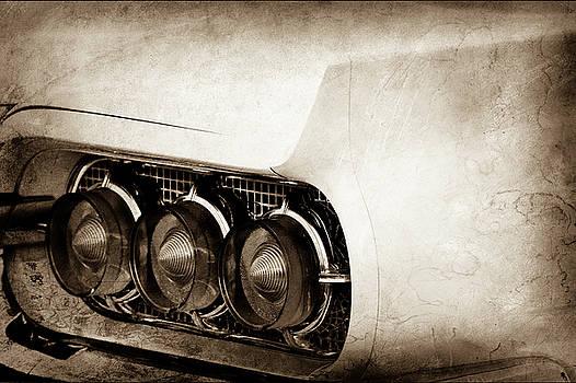 1960 Ford Thunderbird Taillight -0574s by Jill Reger