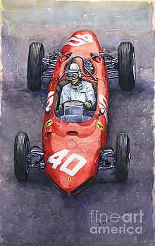 1962 Monaco GP Willy Mairesse Ferrari 156 Sharknose by Yuriy Shevchuk