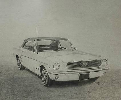 1964 Ford Mustang Convertible by Henry Hargrove