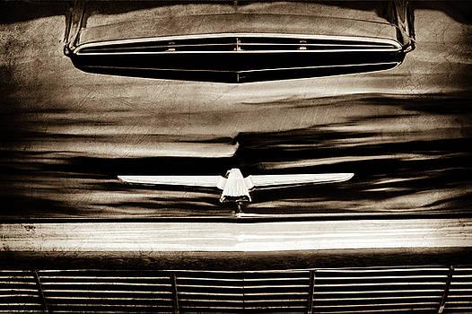 1964 Ford Thunderbird Emblem -0525s by Jill Reger