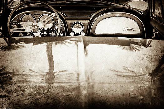 1965 Chevrolet Corvette Sting Ray -0380s by Jill Reger