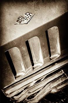 1965 Chevrolet Corvette Sting Ray Emblem -0410s by Jill Reger