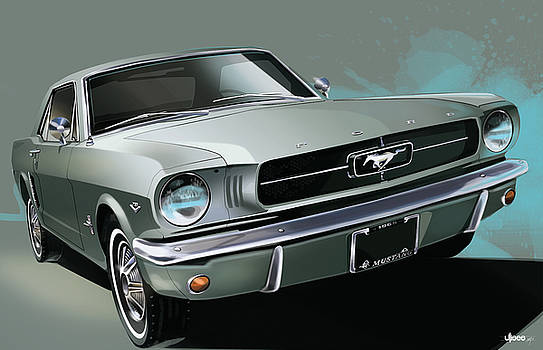 1965 Ford Mustang Coupe by Uli Gonzalez