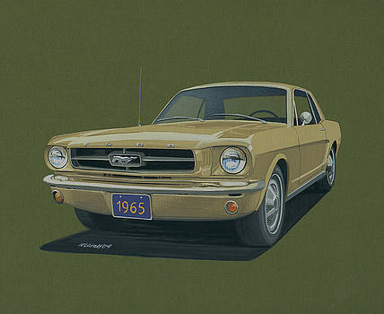 1965 Ford Mustang by Norb Lisinski