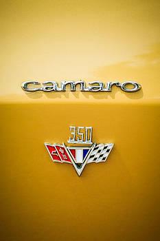 Jill Reger - 1967 Chevrolet Camaro 350 Emblem -0357c2