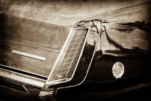 1969 Cadillac Eldorado Taillight Emblem -0318s by Jill Reger