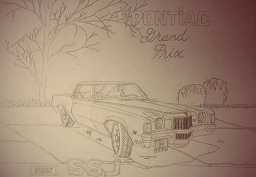 1972 Pontiac Grand Prix SSJ Hurst Edition by Henry Hargrove