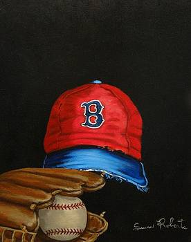 1975 Red Sox by Susan Roberts