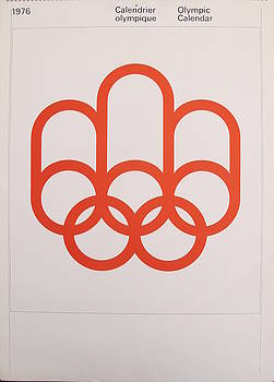 1976 Original Montreal Olympic Calendar by Unknown