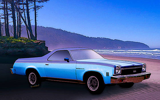 4th Gen El Camino Northern California by Chas Sinklier