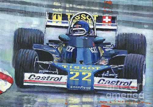 1977 Monaco GP Ensign Ford N177 Jacky Ickx by Yuriy Shevchuk