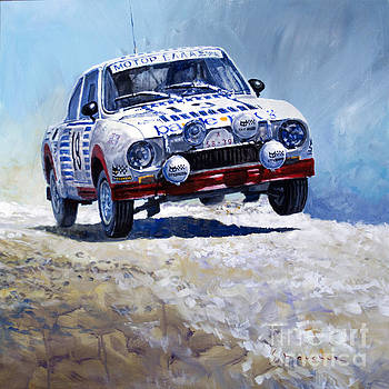1978 Skoda 130 RS #19 Rally Acropolis Haugland by Yuriy Shevchuk