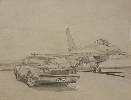 1986 Buick Regal T-Type  by Henry Hargrove
