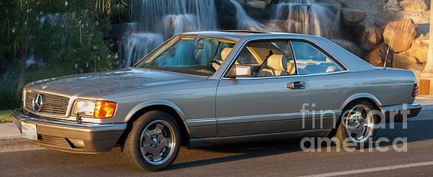 1986 Mercedes 560 SEC by Gunter Nezhoda