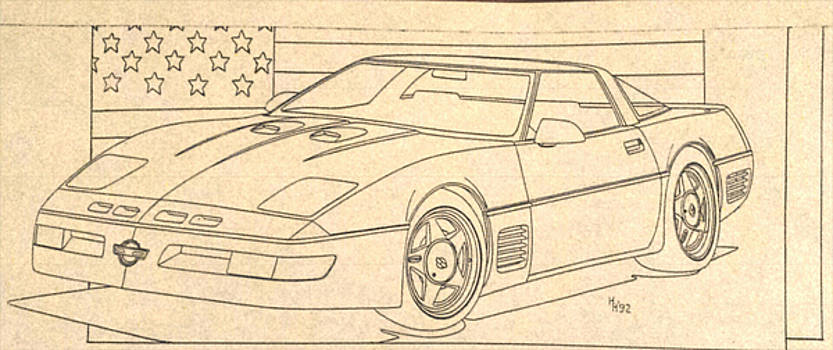 1992 Callaway Corvette by Henry Hargrove